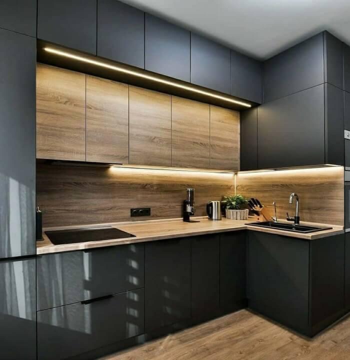 Renolit Mebran Kapaklı Mutfak Projesi
