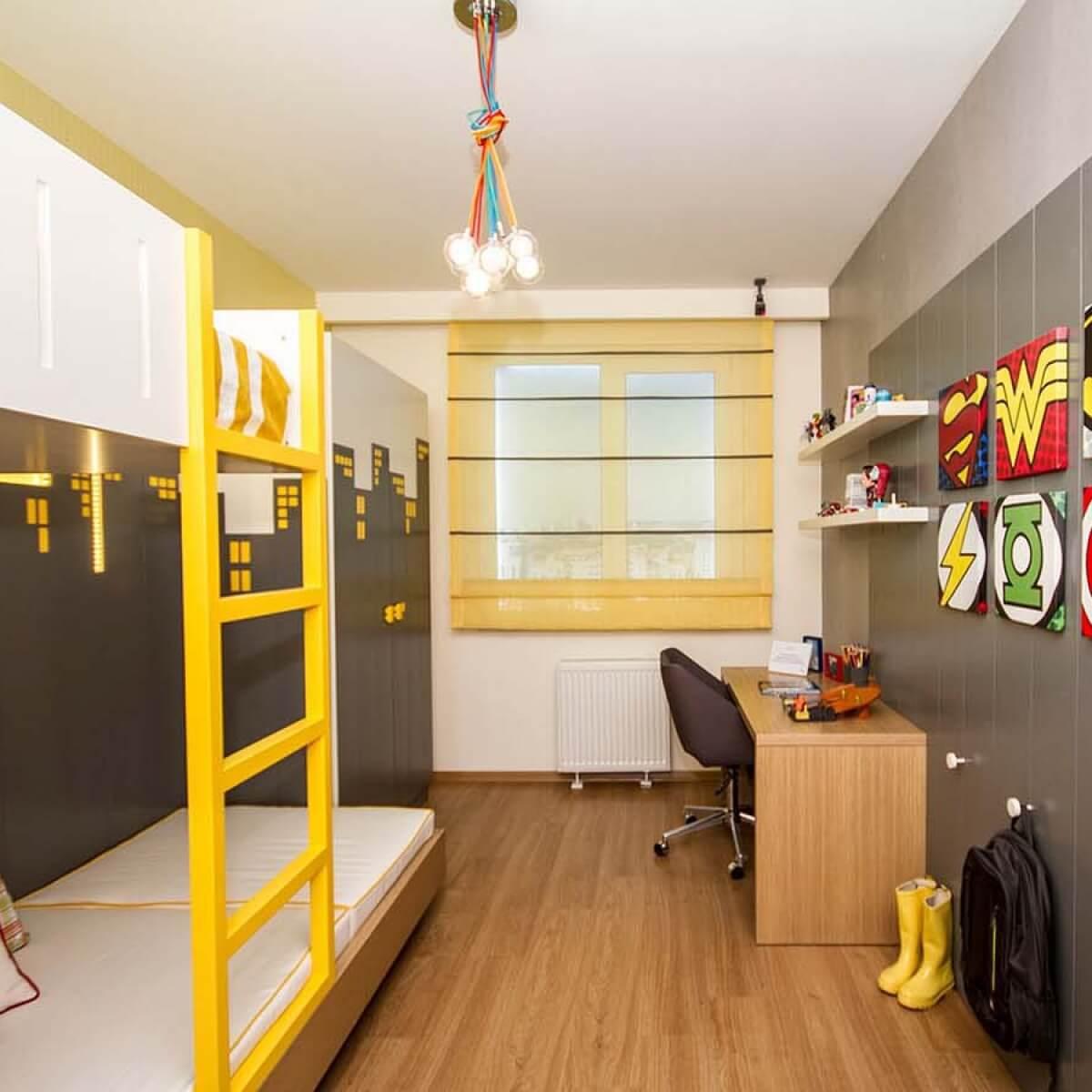 Merdiven ve Ranzalı Çocuk Odası
