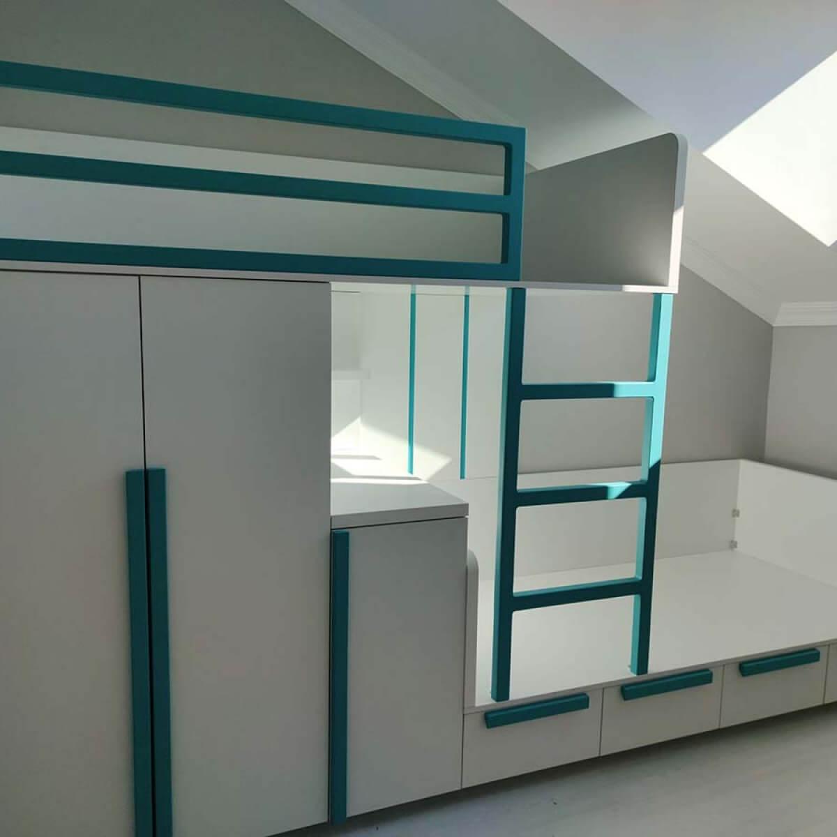 Merdivenli Erkek Çocuk Odası
