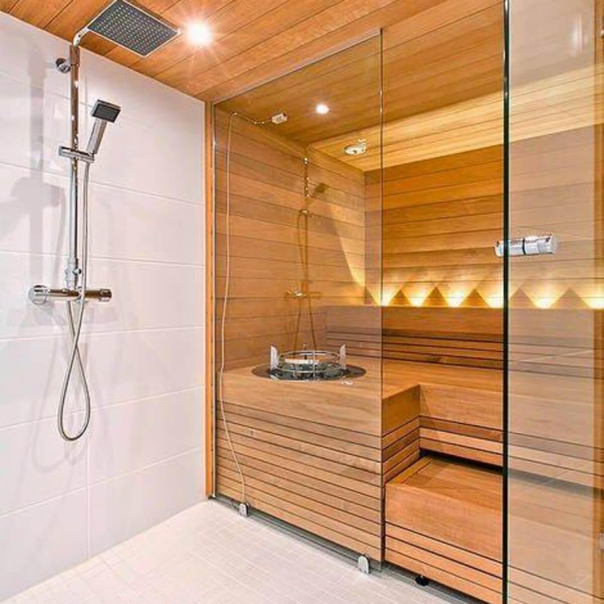 Saunalı Banyo Dolabı
